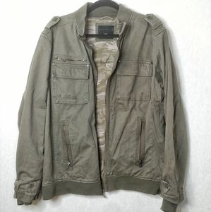 Men's Military Jacket (XL)
